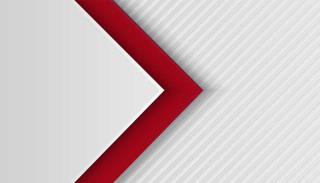 abstract line light silver with red overlap layers background