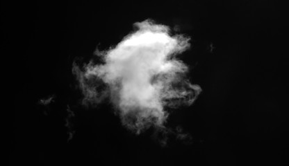 Abstract fog or smoke effect black background