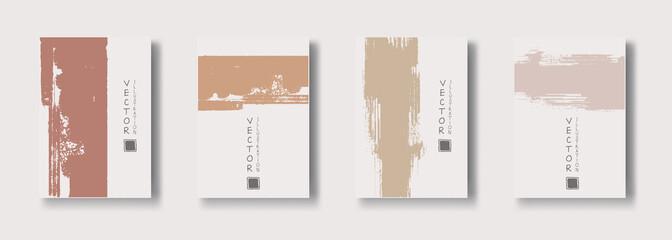 vector soft color ink brush stroke banner