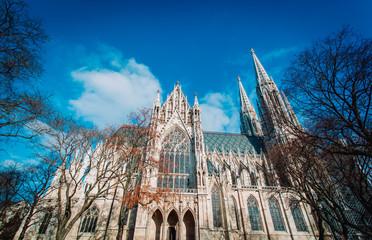 Keuken foto achterwand Wenen St.Stephan Cathedral in Vienna, Austria, travel concept