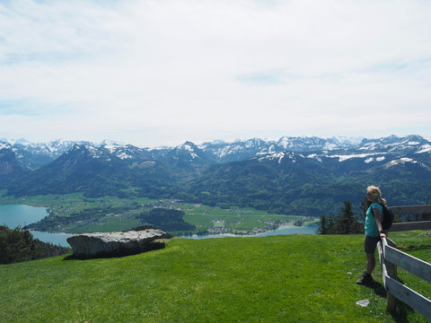Blick auf den Wolfgangsee - Salzkammergut