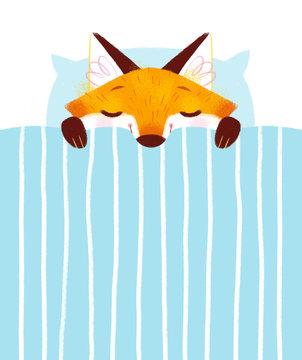Sleeping Baby Fox
