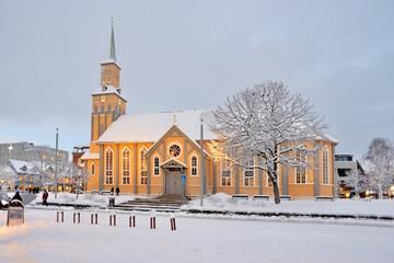 Tromsø, Norway -view of the city
