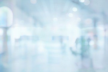 Abstract blur exhibition hallway corridor background
