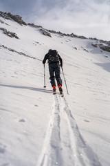 Ski tury - ski touring-  polskie góry- Tatry