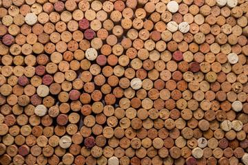 Aluminium Prints Wine corks