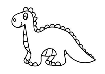 Fototapeta dinozaur, gad, kolorowanka, rysunek, dziecko, zabawka obraz