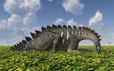 Pflanzenfressender Dinosaurier Miragaia
