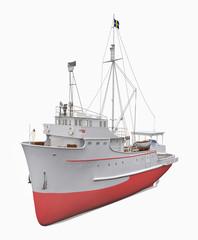 Thunfischfang Schiff, Freisteller