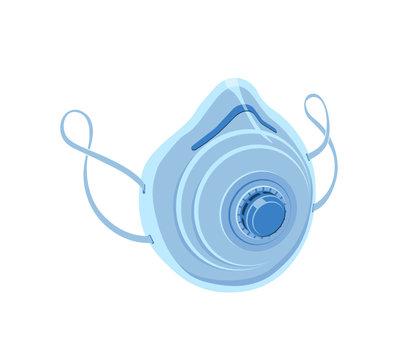 Mascherina per la protezione delle vie respiratorie