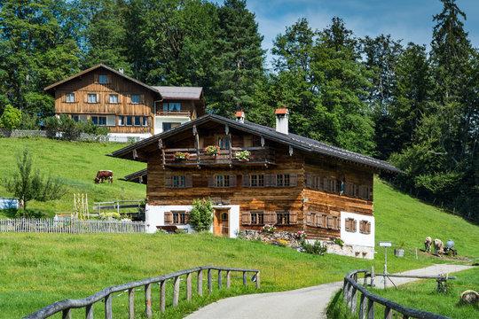 Bauernhaus bei Oberstdorf
