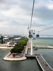 Vasco da Gama Tower, Myriad Hotel, Parque das Nacoes, Park of the Nations, Lisbon, Portugal