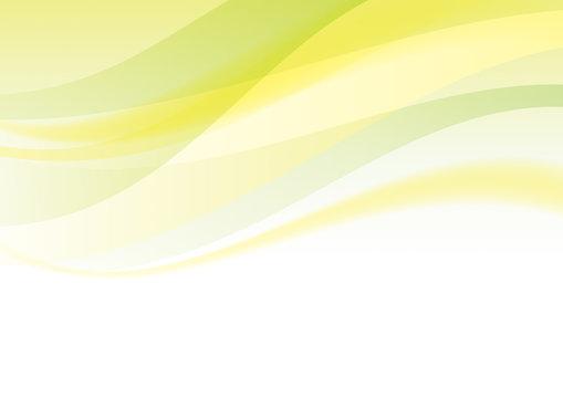 抽象 曲線 背景 黄緑