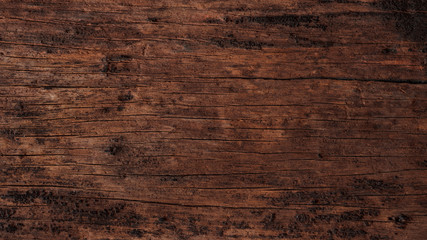 Old wooden boards texture, retro. Antique wood table and floor surface. Vintage desk structure wallpaper. Rustic wood plank background - copy space, banner.
