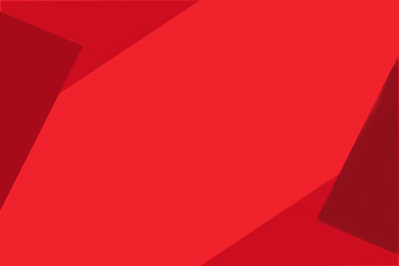 Red geometric polygon background for web design