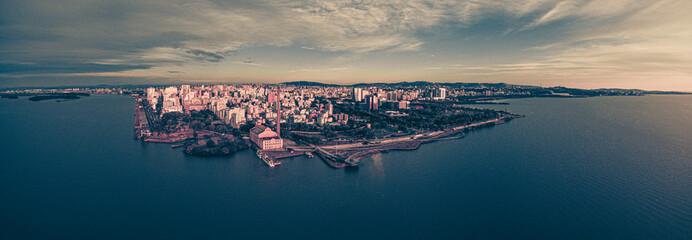 Foto aérea de Drone Porto Alegre RS