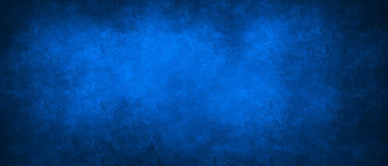 Regular blue distressed grunge texture background with space for text or image