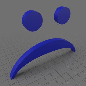 Frown emoji