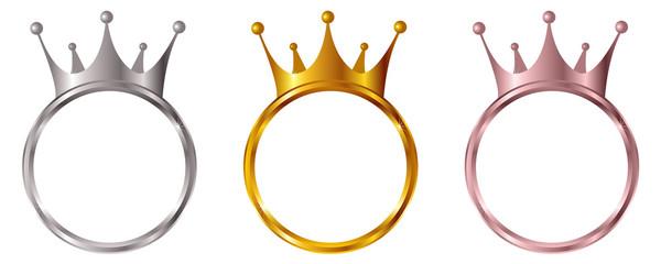 王冠 金 メダル アイコン
