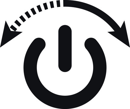 On Off switch Icon, auto switch icon