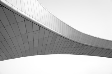 Printed roller blinds Bridge Low Angle View Of Built Structure Against Clear Sky