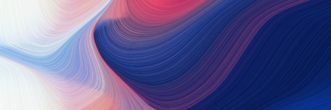 modern header design with thistle, midnight blue and sky blue colors. dynamic curved lines with fluid flowing waves and curves