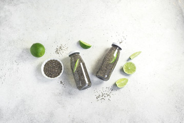 Chia Seeds Detox Water