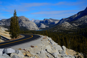 Tioga Pass is the road through Yosemite National Park to the Eastern Sierra and highway 395