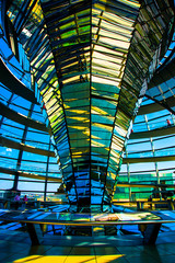 BERLIN, GERMANY: Reichstag - the Parliament building of the German Empire. Bundestag building.