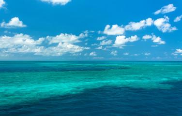 Foto op Plexiglas Blauwe jeans The Great Barrier Reef