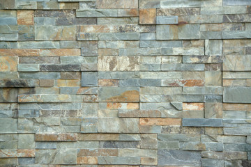 Brick wall texture or brick wall background For exterior decoration and design for building...
