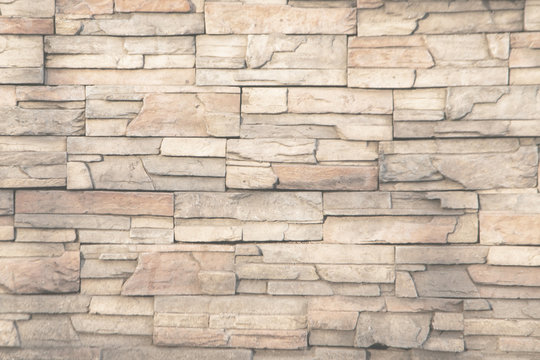Brick wall texture or brick wall background For exterior decoration and design for building construction concepts.