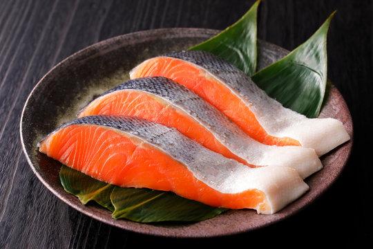 銀鮭 Japanese style Silver salmon fillet