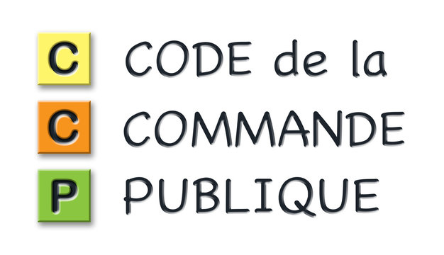 CCP initials in colored 3d cubes with meaning in french language