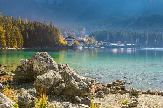 Eibsee, Zugspitze