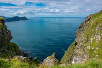 Insel Runde an der westnorwegischen Küste in Norwegen / Skandinavien