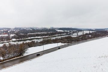 the surroundings of Kaluga, Russia