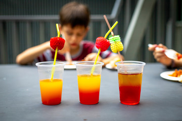 Syrup coctails for kids