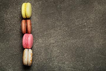 Papiers peints Macarons Macaroons stack, pile of macaron