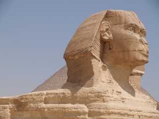 Wall Murals Egypt Sphinx Against Clear Sky