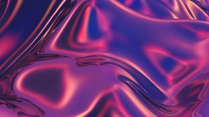 Abstract digital background with smooth gradients in trendy colors Fotobehang