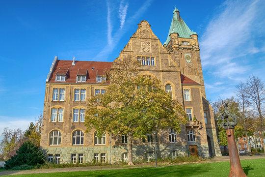 Rathaus der Stadt Hattingen, Norrhein-Westfalen, Deutschland
