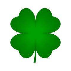 Four leaf clover icon. Vector.