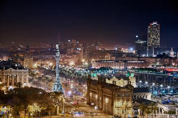 Barcelona por la noche