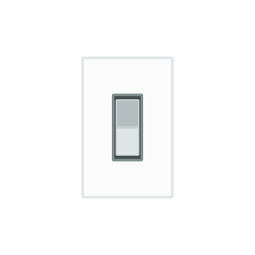 vector icon, switch off light
