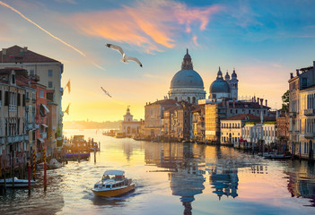 Photo sur Aluminium Venise Grand Canal in Venice