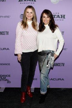 Bonnie Somerville, Jacqueline Obradors at arrivals for PALM SPRINGS Premiere at Sundance Film Festival 2020