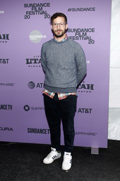 Andy Samberg at arrivals for PALM SPRINGS Premiere at Sundance Film Festival 2020