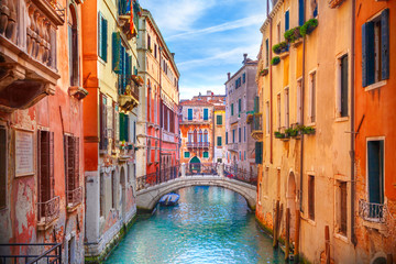 Photo sur Aluminium Venise Canal in Venice, Italy