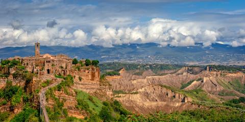 Wall Mural - Italy landscape, Civita di Bagnoregio, Lacjum, Europe